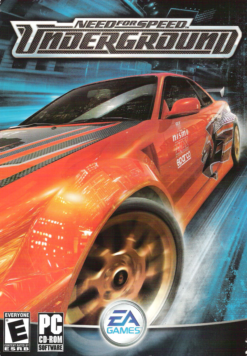 Need for Speed Underground Windows Front Cover