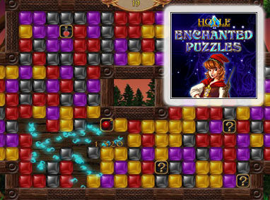 Hoyle Enchanted Puzzles Windows Front Cover
