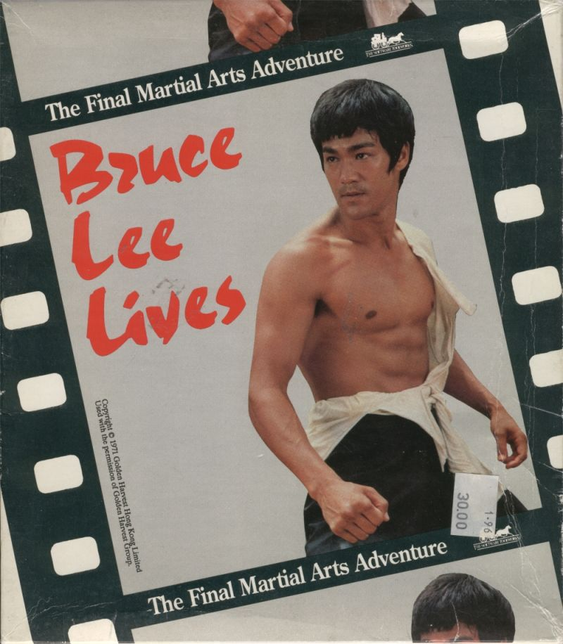 Bruce Lee Lives DOS Front Cover
