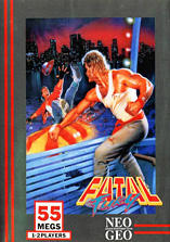 Fatal Fury Windows Front Cover