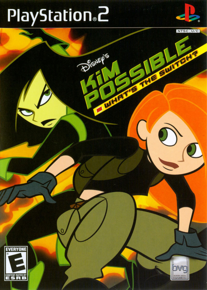 Disney's Kim Possible: What's the Switch? PlayStation 2 Front Cover