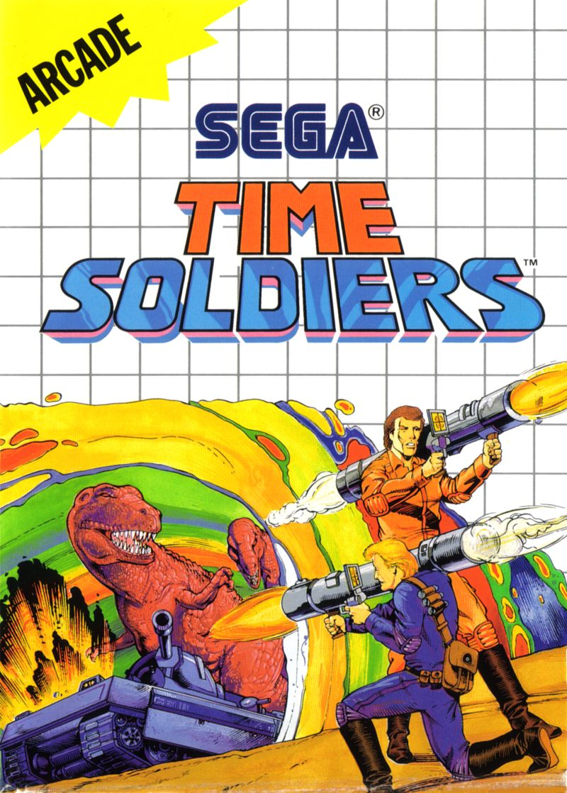 Time Soldiers SEGA Master System Front Cover