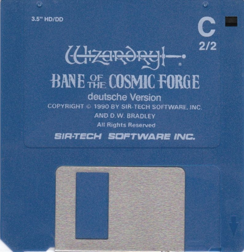 Wizardry: Bane of the Cosmic Forge DOS Media Disk 2/2