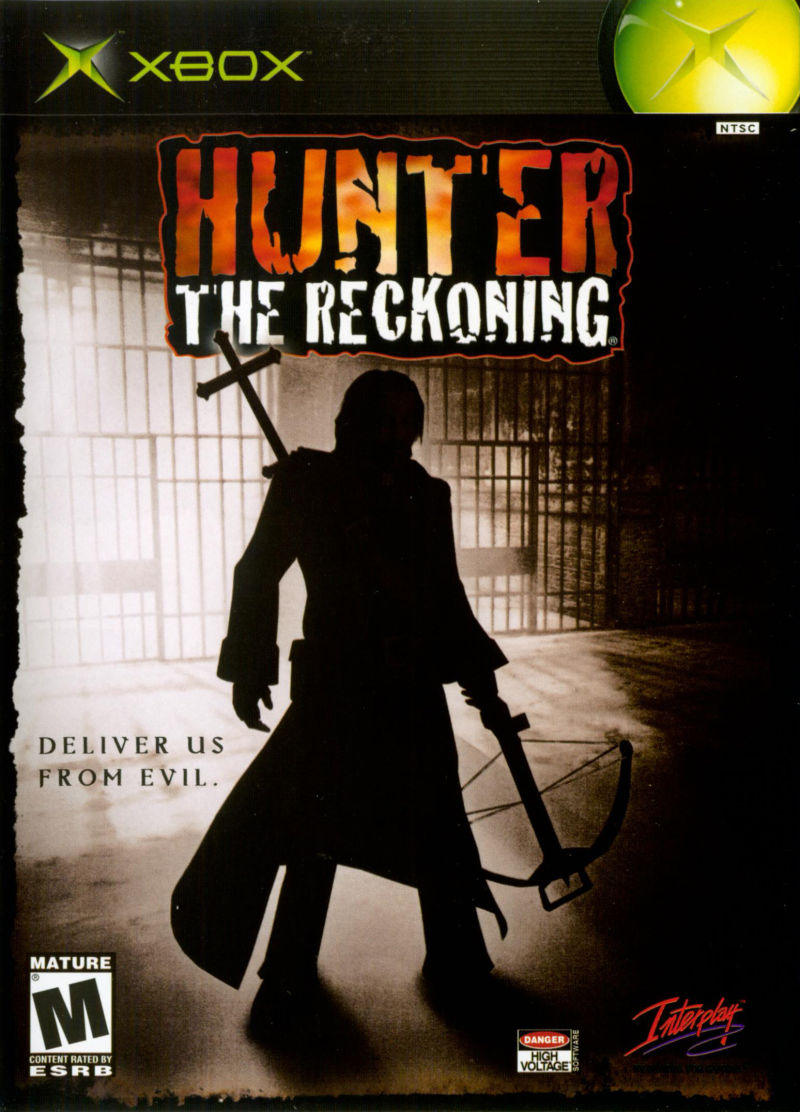 Hunter: The Reckoning Xbox Front Cover