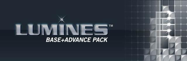 LUMINES Base + Advance Pack  Windows Front Cover