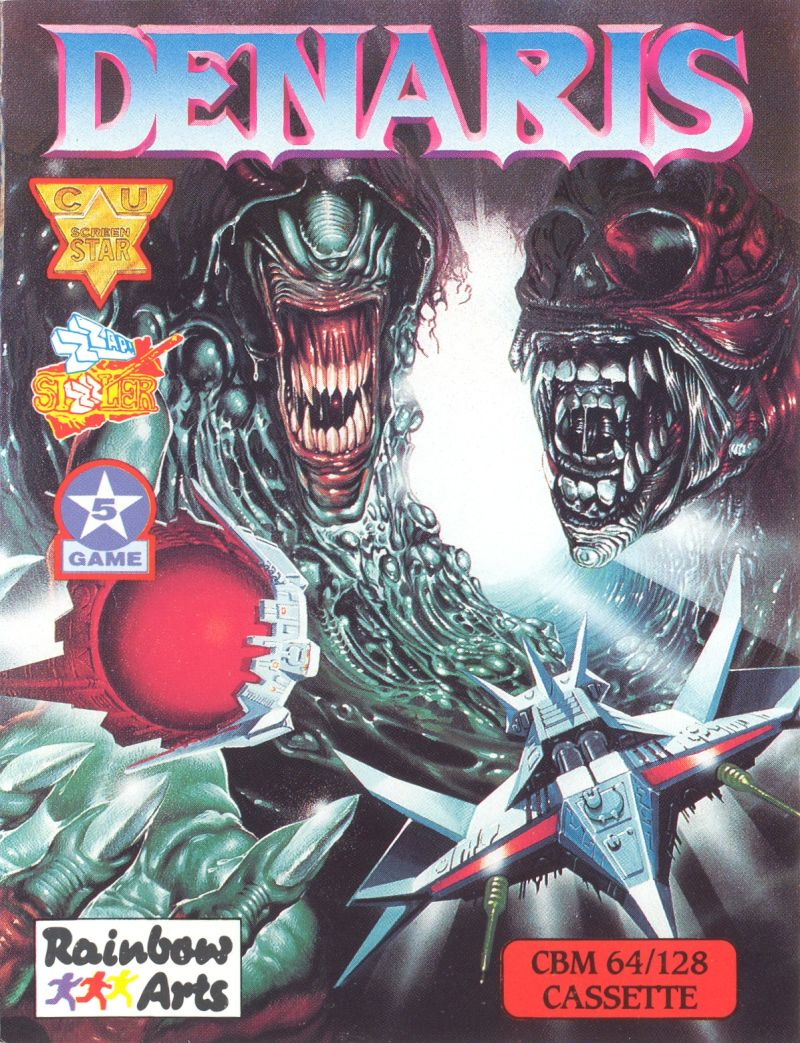 Katakis Commodore 64 Front Cover