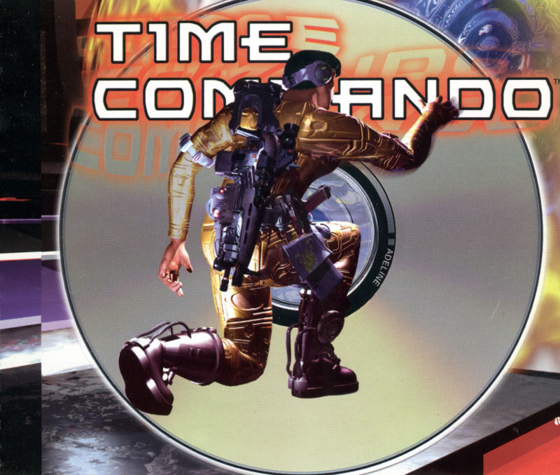 Time Commando DOS Other Jewel Case (Right Inlay)