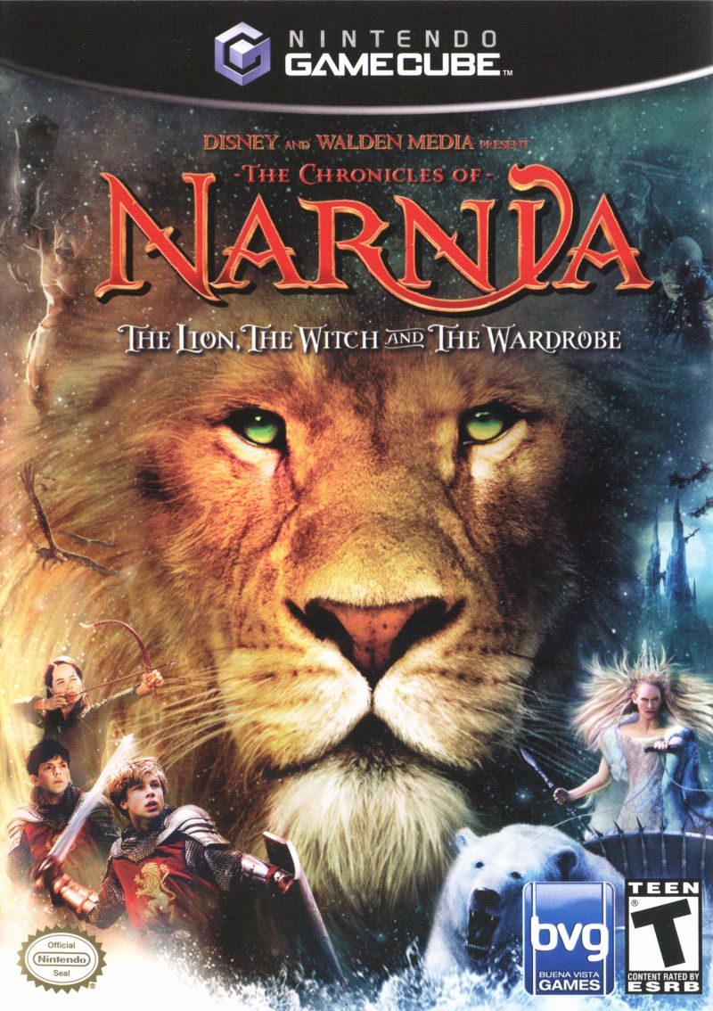 The Chronicles of Narnia: The Lion, the Witch and the Wardrobe GameCube Front Cover