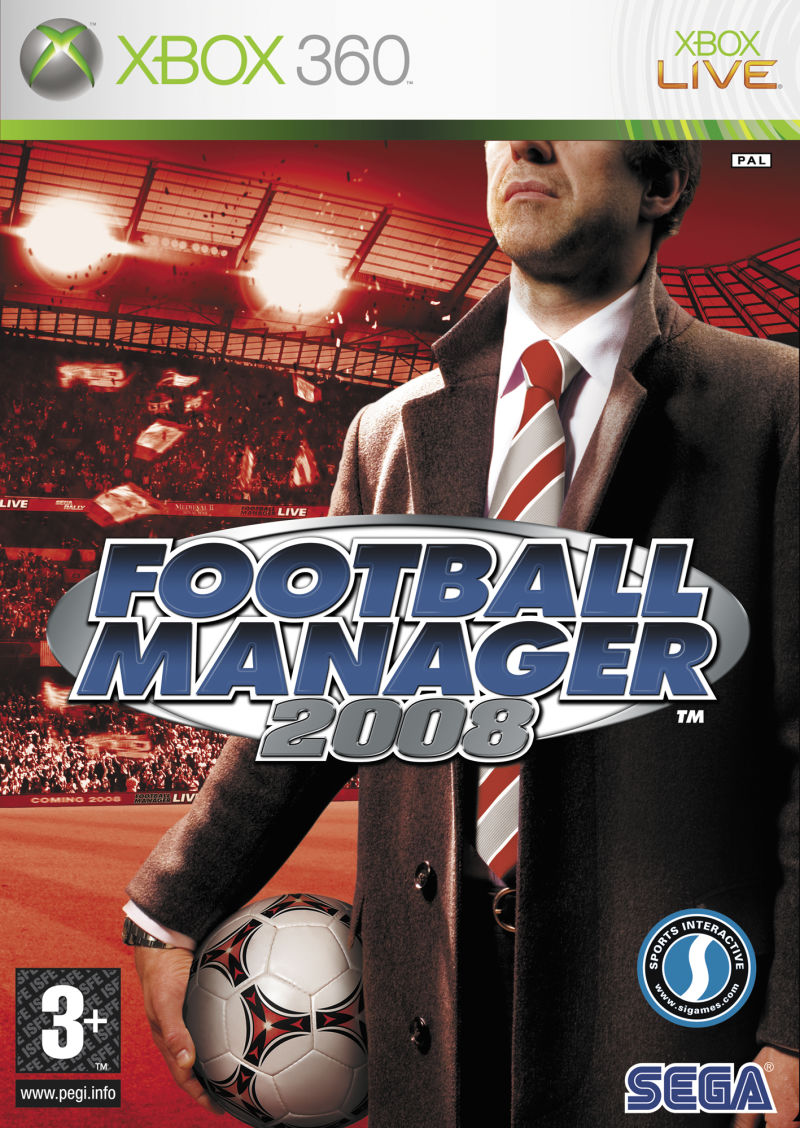 Worldwide Soccer Manager 2008 Xbox 360 Front Cover