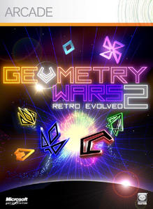 Geometry Wars: Retro Evolved 2 Xbox 360 Front Cover