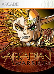 Arkadian Warriors Xbox 360 Front Cover