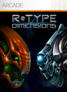 R-Type Dimensions Xbox 360 Front Cover