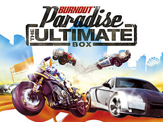 burnout paradise the ultimate box 2009 playstation 3 box cover art mobygames. Black Bedroom Furniture Sets. Home Design Ideas
