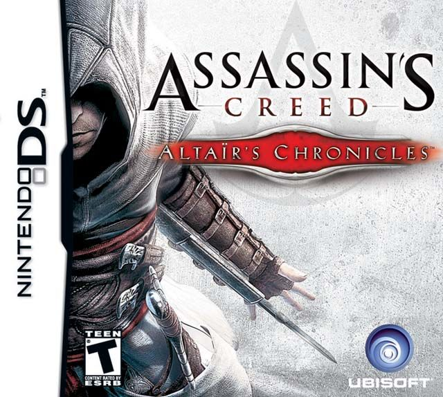 Assassin's Creed: Altaïr's Chronicles Nintendo DS Front Cover