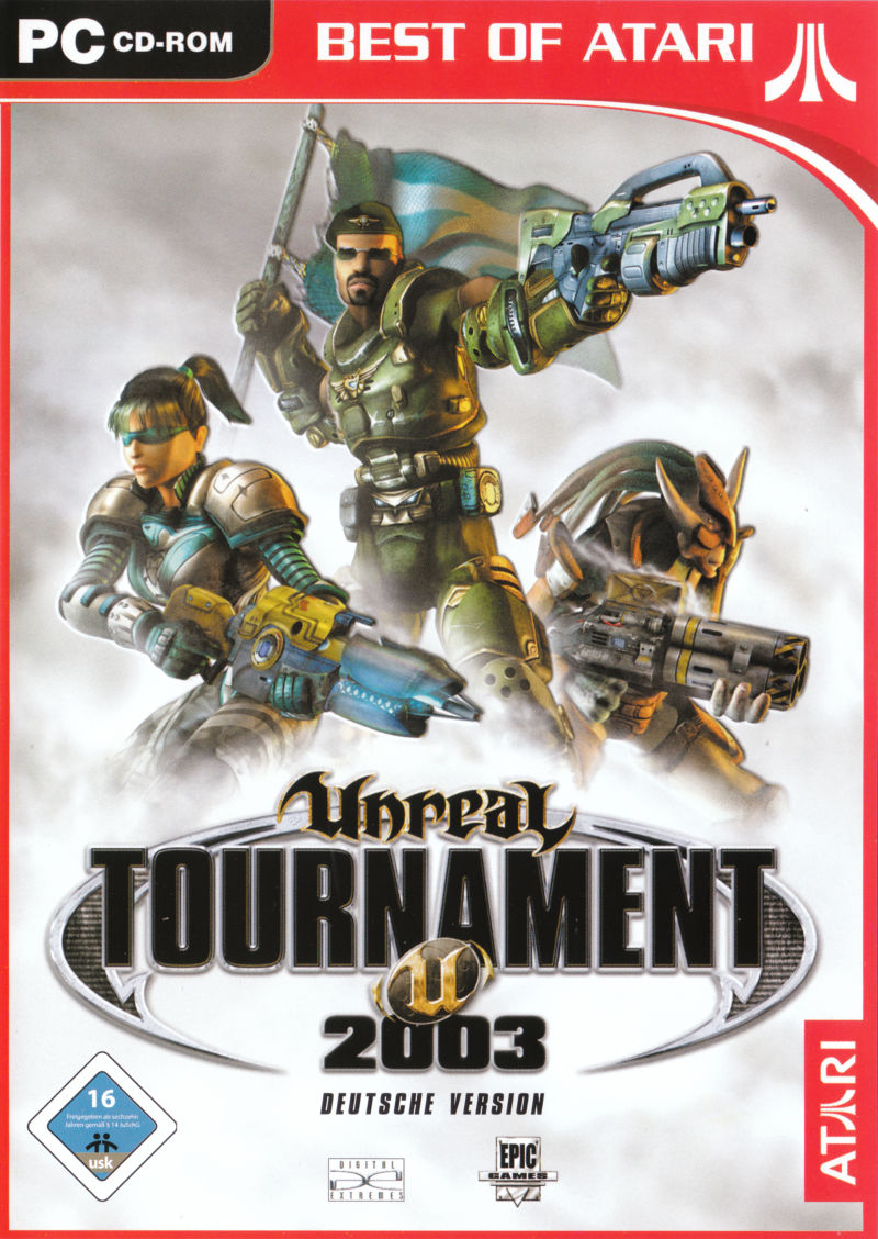 Unreal: Gold Edition Linux Other Unreal Tournament 2003 - Keep Case - Front