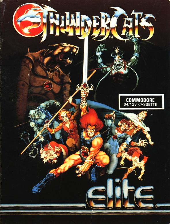 Thundercats Commodore 64 Front Cover