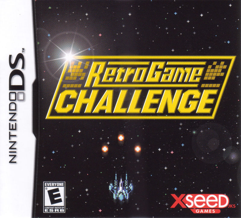 Retro Game Challenge Nintendo DS Front Cover