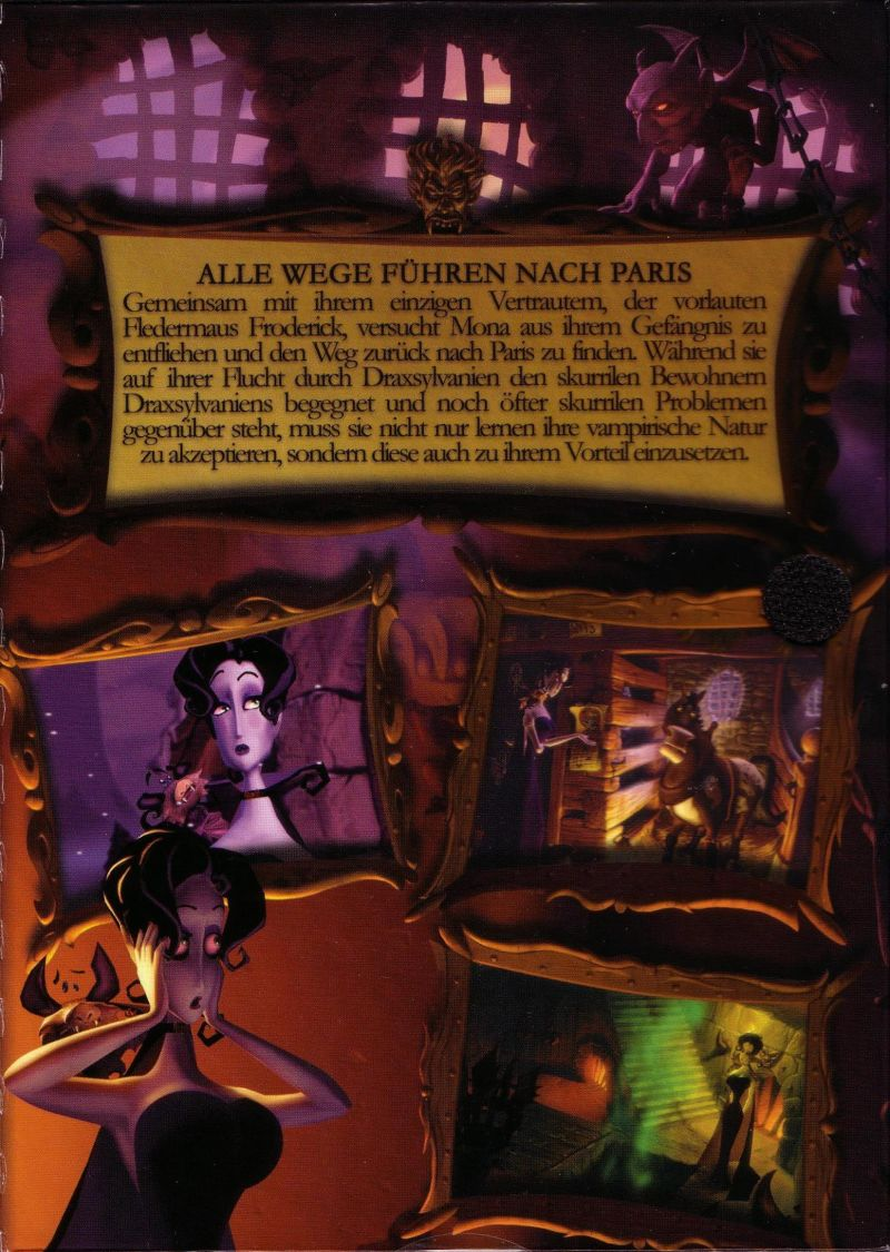 A Vampyre Story Windows Inside Cover Right Flap