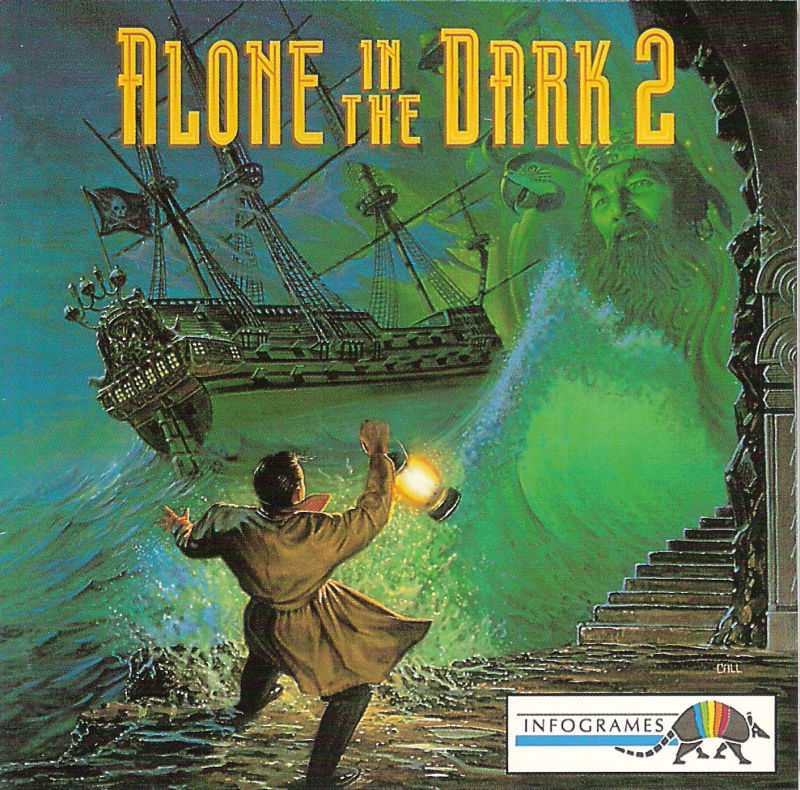 Alone in the Dark 2 DOS Other Jewel Case - Front