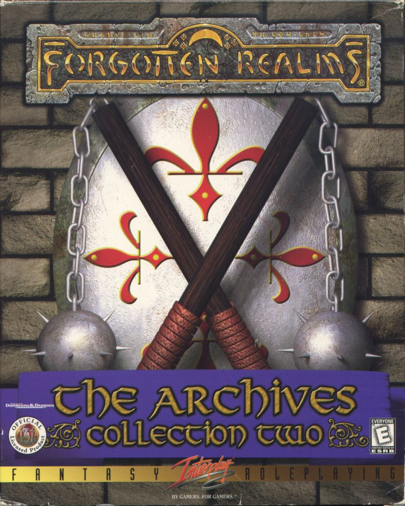 Forgotten Realms: The Archives - Collection Two DOS Front Cover