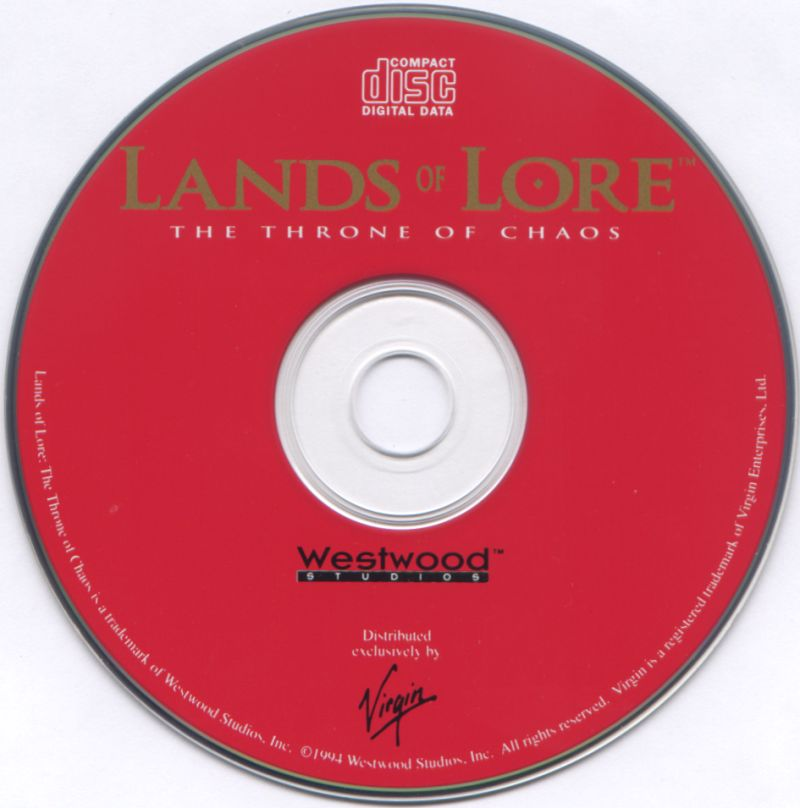Lands of Lore: The Throne of Chaos DOS Media