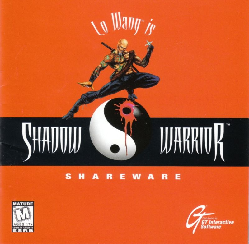 Shadow Warrior DOS Other Jewel Case - Front