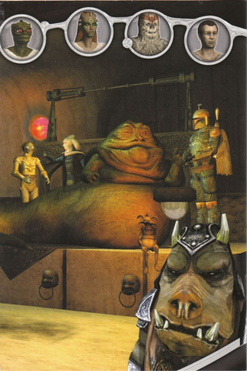 Star Wars: Galaxies - An Empire Divided Windows Inside Cover Right Flap