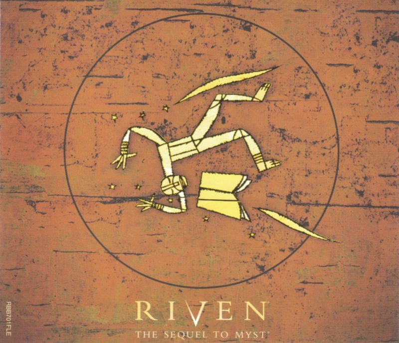 Riven: The Sequel to Myst Windows Other Jewel Case - Front