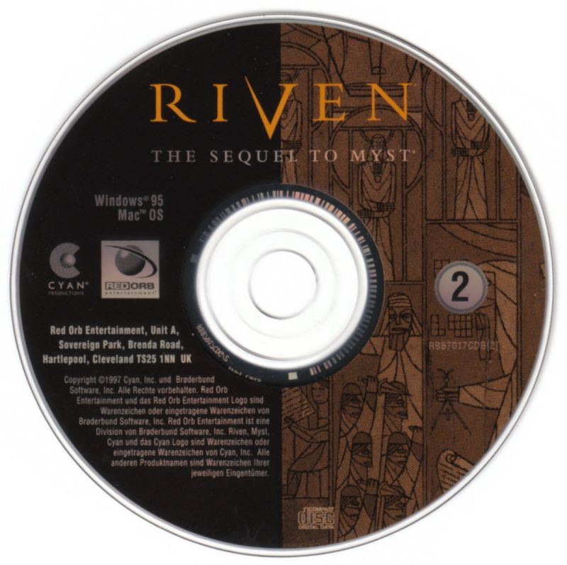 Riven: The Sequel to Myst Windows Media Disc 2