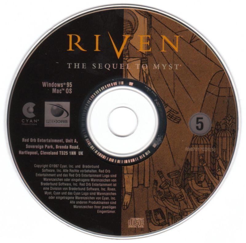Riven: The Sequel to Myst Windows Media Disc 5