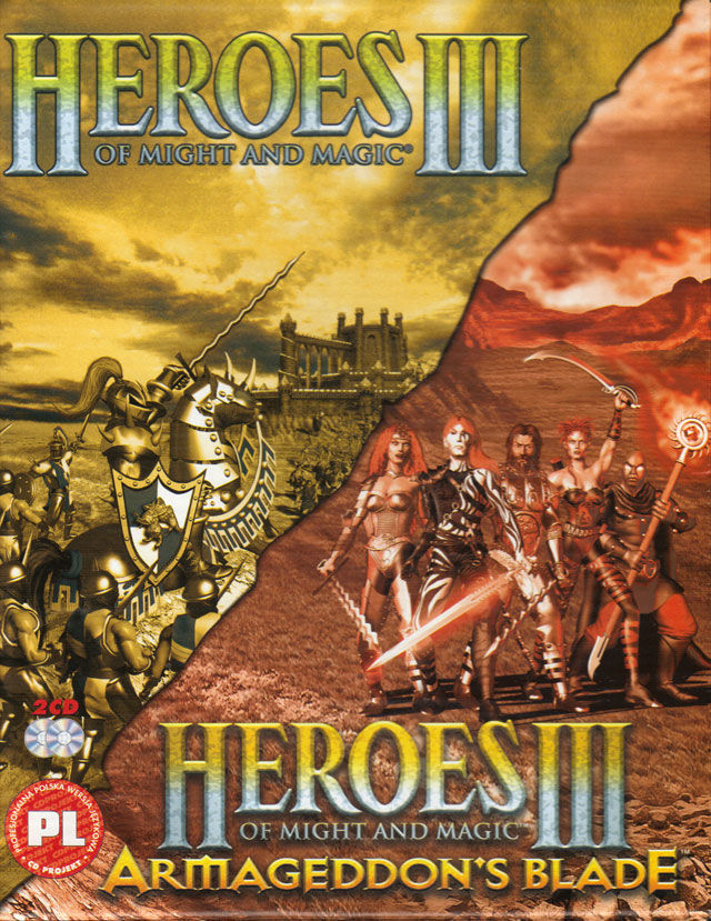 Heroes of Might and Magic III: Double Pack Windows Front Cover