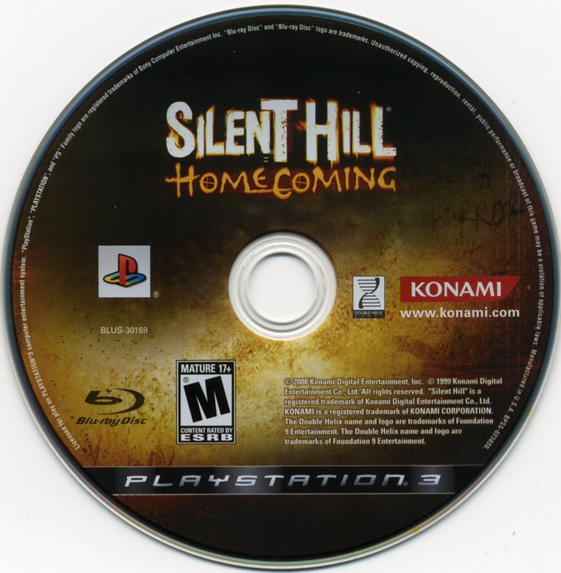 Silent Hill: Homecoming PlayStation 3 Media