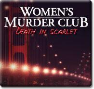 Women's Murder Club: Death in Scarlet Windows Front Cover