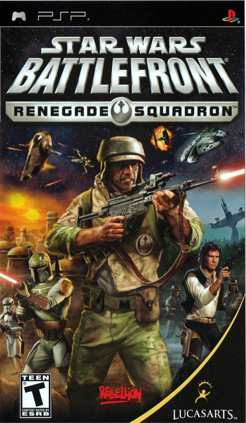 Star Wars: Battlefront - Renegade Squadron PSP Front Cover