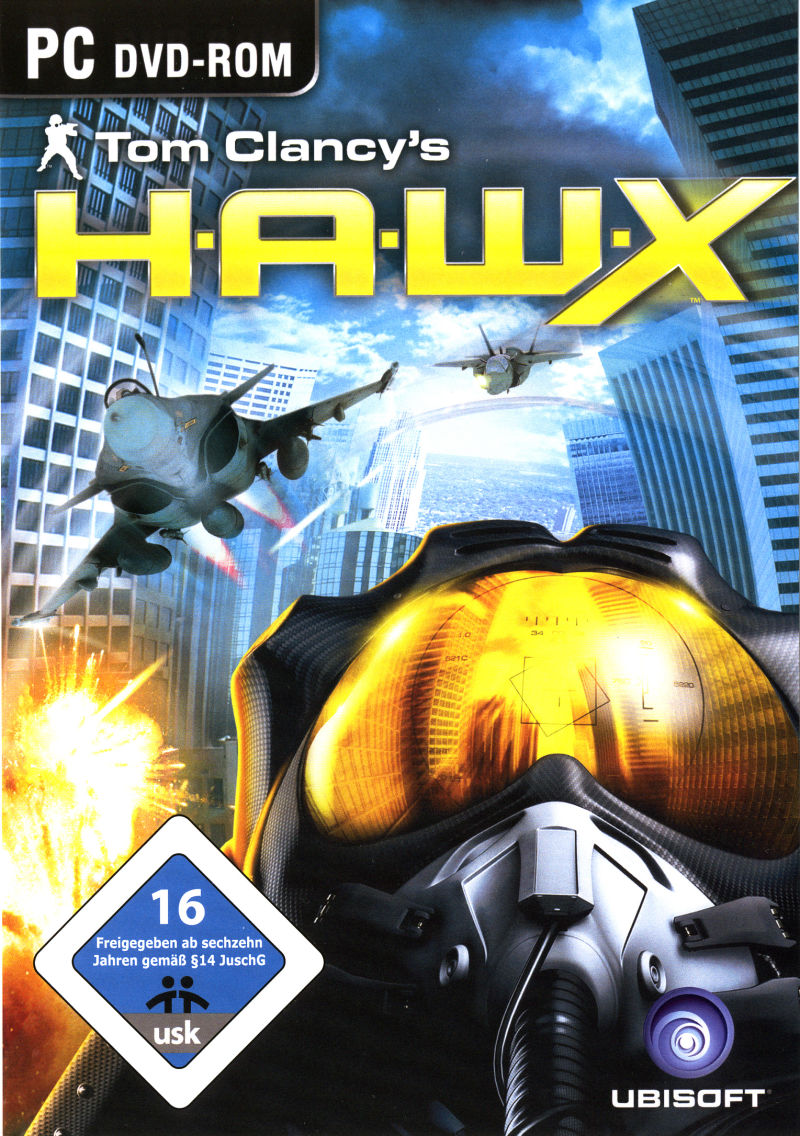 Tom Clancy's H.A.W.X (Pre-Order Pack) Windows Front Cover