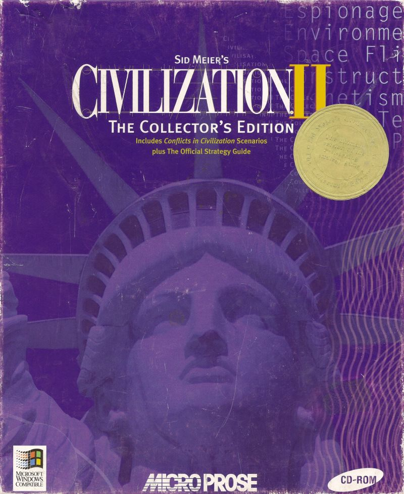 Sid Meier's Civilization II: The Collector's Edition Windows Front Cover