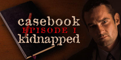 Casebook: Episode I - Kidnapped Windows Front Cover