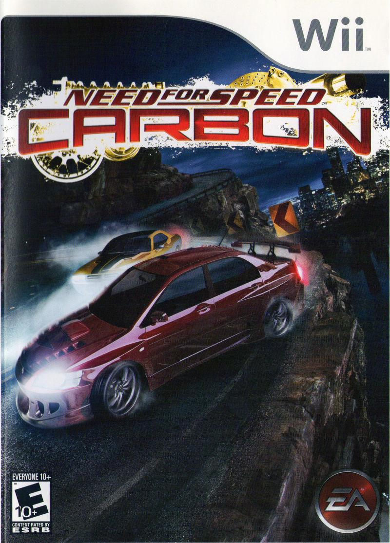 need for speed carbon 2006 wii box cover art mobygames. Black Bedroom Furniture Sets. Home Design Ideas
