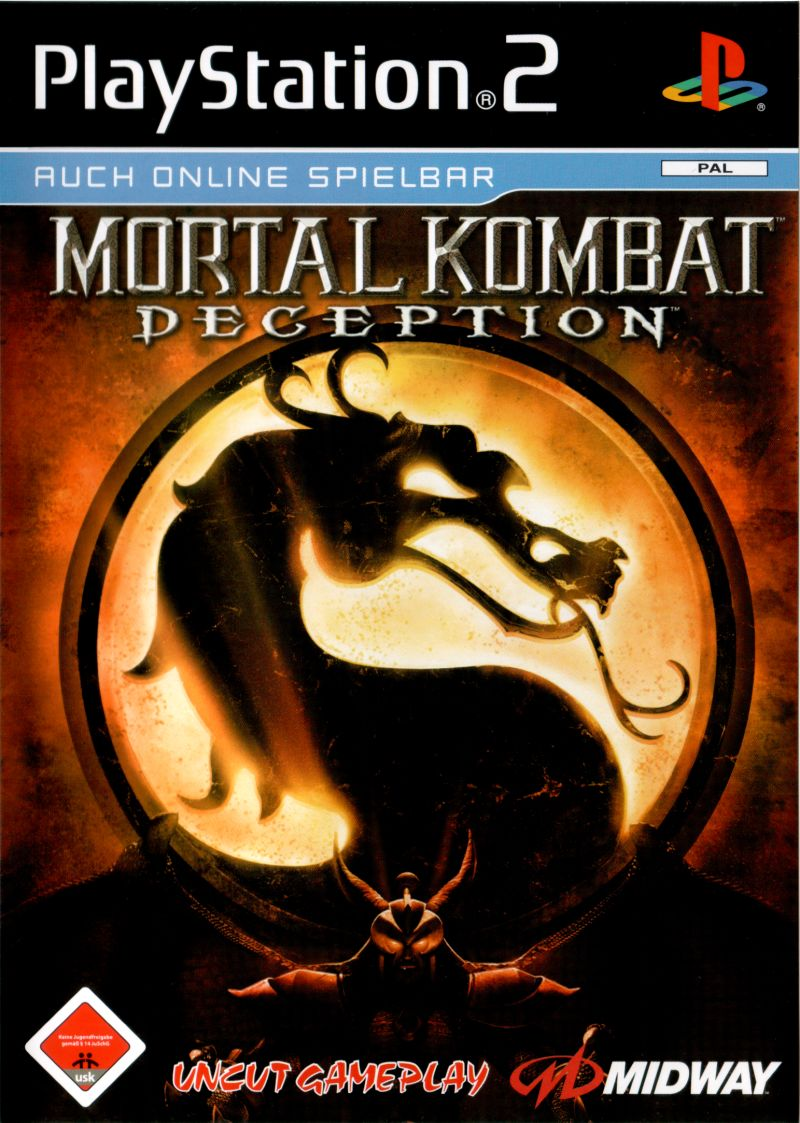Mortal Kombat: Deception PlayStation 2 Front Cover