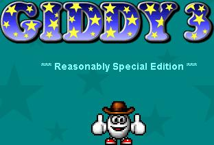 Giddy 3: The Retro Eggsperience Amiga Front Cover