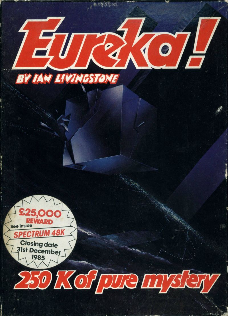 Eureka! ZX Spectrum Front Cover