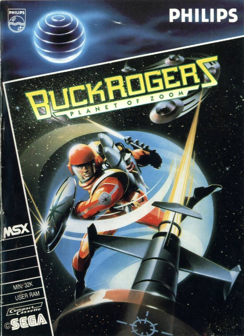Buck Rogers: Planet of Zoom MSX Front Cover