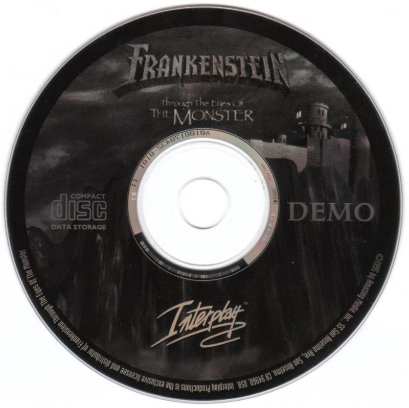 "Stonekeep DOS Media Demo Disc ""Frankenstein: Through the..."""