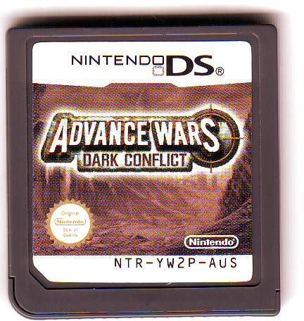 Advance Wars: Days of Ruin Nintendo DS Front Cover