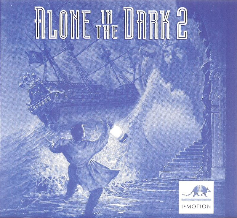 Alone in the Dark 2 DOS Other Jewel Case - Back