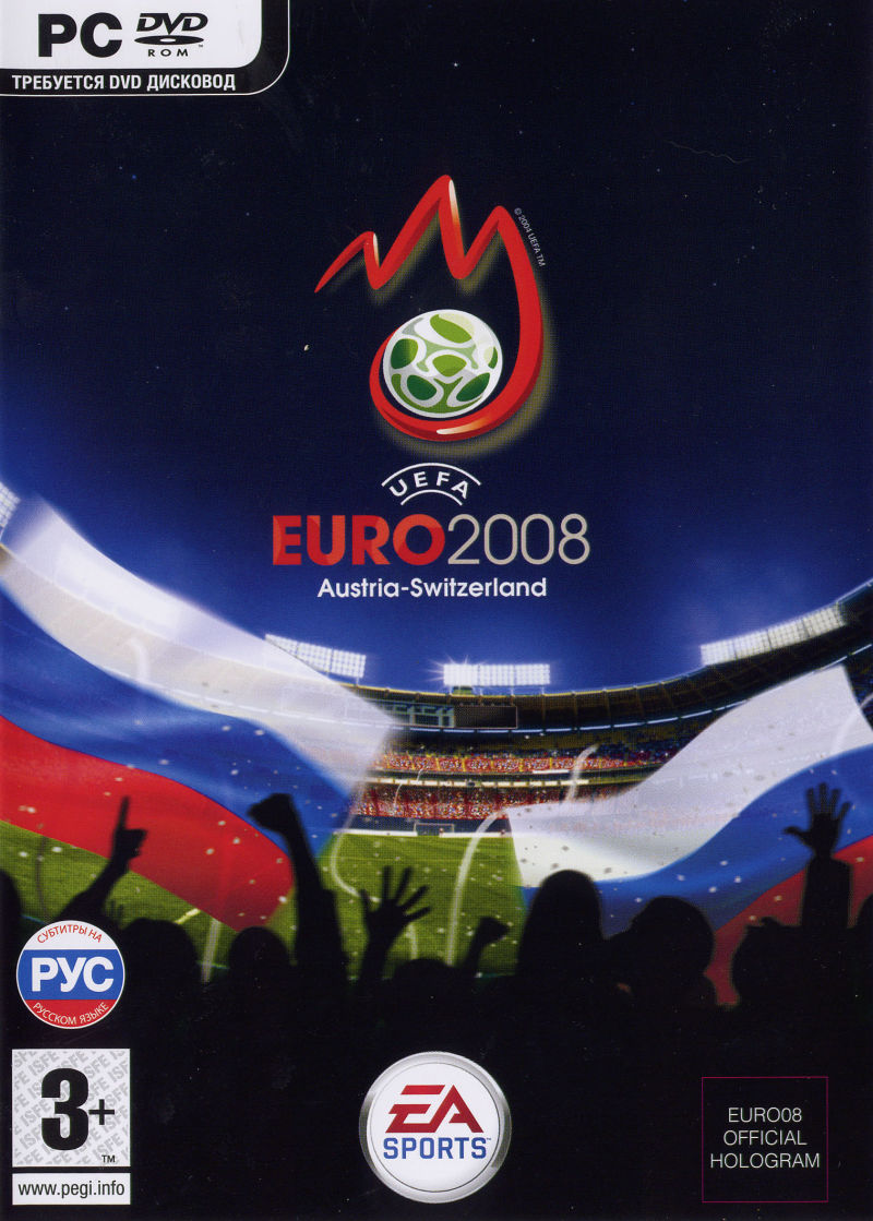 UEFA Euro 2008 Windows Front Cover