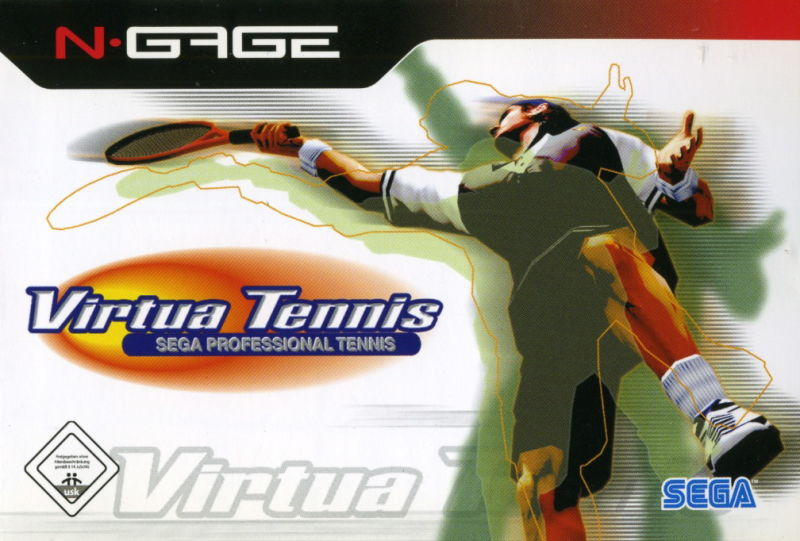 Virtua Tennis N-Gage Front Cover