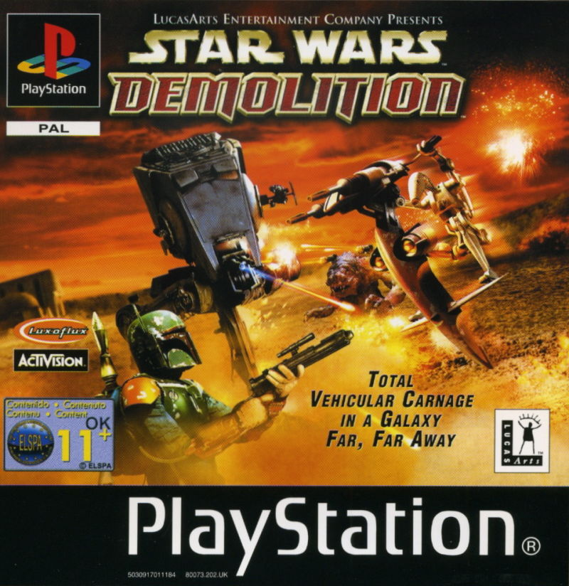 Star Wars: Demolition PlayStation Front Cover