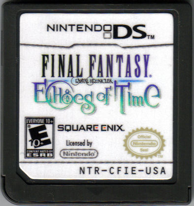 Final Fantasy: Crystal Chronicles - Echoes of Time Nintendo DS Media
