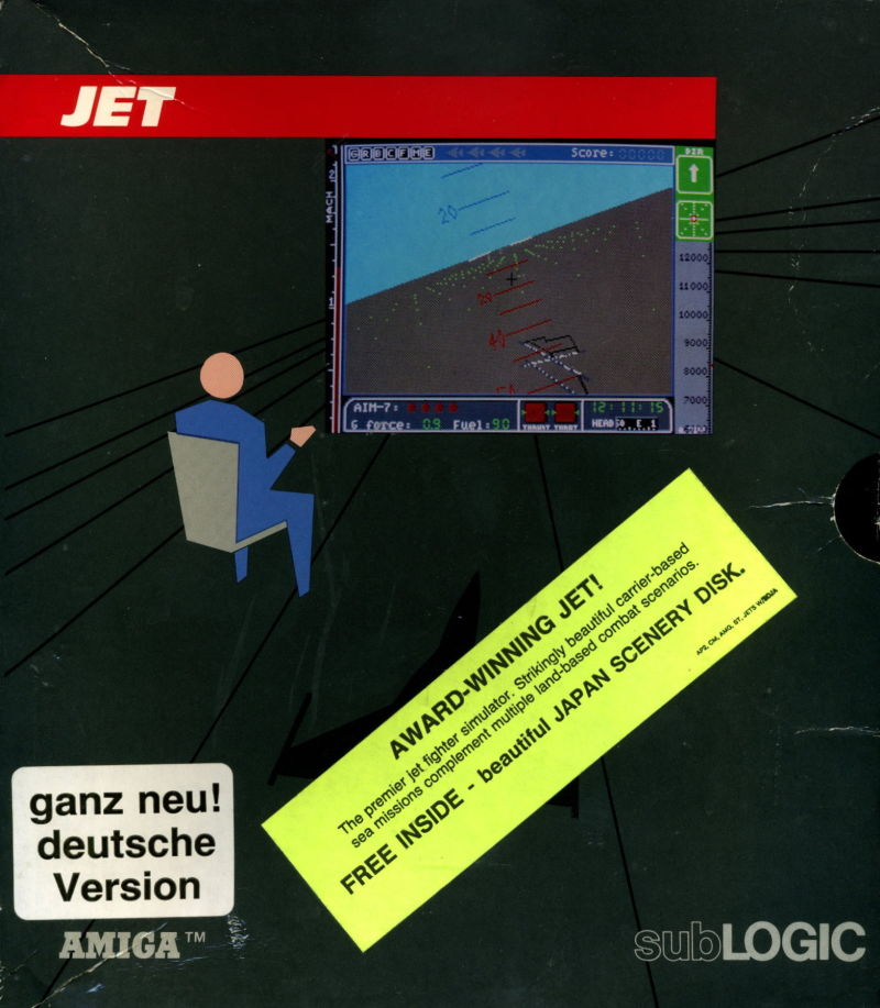 Jet Amiga Front Cover